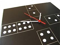 Hodiny - Nástenné hodiny Domino  - 1269129