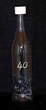 Nádoby - darčeková fľaša č.2 - 1271153