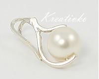 - Perlový prívesok - White - 1271610