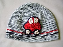 Detské čiapky - Autičková prechodná - 1273659