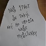 Dekorácie - tabuľka múdrych slov - 1285696
