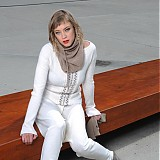 Svetre/Pulóvre - žebrový pulover VALI - 1287320
