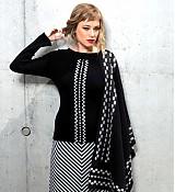 Svetre/Pulóvre - žebrový pulover VALI - 1287321