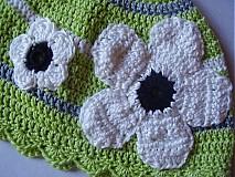 Detské čiapky - Kvetinka - 1292965