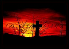 Fotografie - Krvavý západ slnka - autorská fotografia:-) - 1297560