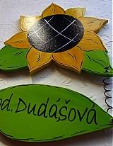 Tabuľky - menovka slnečnica - 1302796