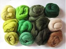 - Sada merino - zelená mix 120 g - 1306062