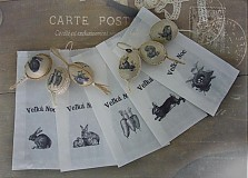 Papiernictvo - Veľkonočné Vintage Vrecúška..VVV.. - 1317809