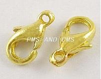 Komponenty - Karabínka zlatá/ 10 ks - 1331327