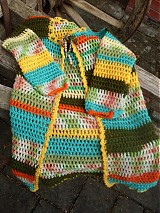 Detské oblečenie - dievčenský svetrík - 1338021