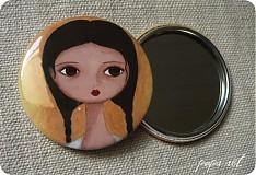 - Zrkadielko do kabelky pre pekné dievčinky - 134099