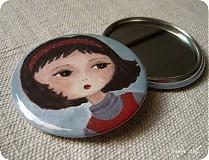 - Zrkadielko do kabelky pre pekné dievčinky - 134112