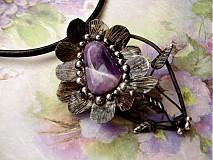 Náhrdelníky - Kvet vášne - 1345013