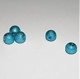 Korálky - 0005 Voskované perly - tyrkysové 8 mm, 10 ks - 135104