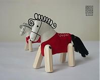 Hračky - koník - 1351280