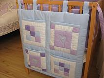 Textil - setík do postieľky - 1364346