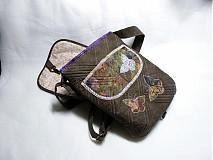 Kabelky - nočný motýľ - 1371412