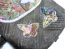 Kabelky - nočný motýľ - 1371414
