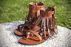 Obuv - Kožené sandále WOODSTOCK - 1372881