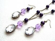 Sady šperkov - purple queen - 1375211