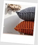 Úžitkový textil - ° Háčkovaný, buclatý ° ORANŽOVÝ - 1378055