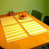 Úžitkový textil - Yellow stripes - 1378582