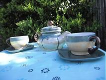 Nádoby - Modrá ,,čajovka ,, - 1380157