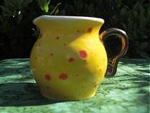 Nádoby - žltý mliečnik - 1383923