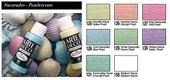 Farby-laky - ARTeDECO - perleťové - 1384164