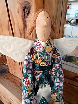 Bábiky - Anjelka zo záhrady - 1388616