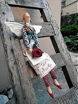 Bábiky - Anjelka zo záhrady - 1388618