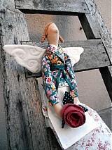 Bábiky - Anjelka zo záhrady - 1388619