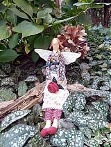 Bábiky - Anjelka zo záhrady - 1388620