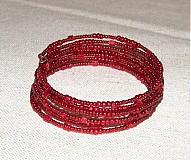 Suroviny - 0084 Pamäťový drôt náramkový, priemer 60 mm, 10 otočiek - 139988