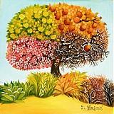 Obrazy - Strom ročních období - 140430
