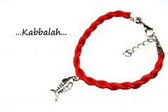 Náramky - kabbalah náramok rybyčka - 1407111