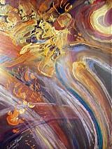 Obrazy - Golden rain - 1412318