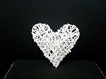 Dekorácie - Srdce veľké - 1413414