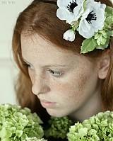 Ozdoby do vlasov - Biela anemonka by Hogo Fogo - 1417438