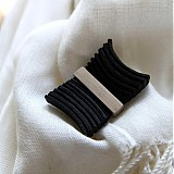 Odznaky/Brošne - čierny motýľ - 1421941