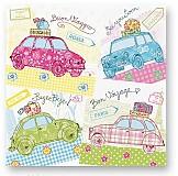 Papier - Farebné autíčka - 1421973