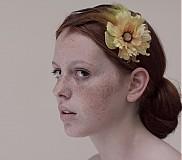 Ozdoby do vlasov - Žltý kvet, psík a raja by Hogo Fogo - 1427255