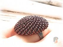 Prstene - BUTTON_Dark Bronze - 1427969