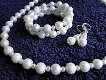 Sady šperkov - Snehová vločka - 1429091