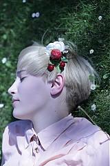 Ozdoby do vlasov - Anemonka, jahoda a čerešne by Hogo Fogo - 1429394