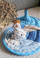 Úžitkový textil - Sliepka vs. kohút 22 - 1441606