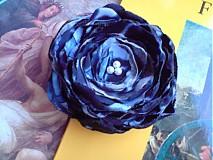 Odznaky/Brošne - kráľovsky modrá... - 1446795