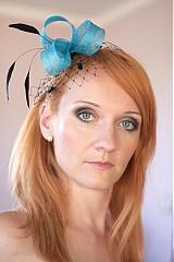 Iné doplnky - Deana - tyrkysová vlasová ozdoba - 1448643