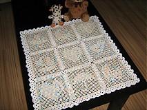 Textil - Háčkovaná deka pro mimi - 1449932