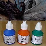 Farby-laky - Štartovací balíček - 3 ks farby na textil - 1452134